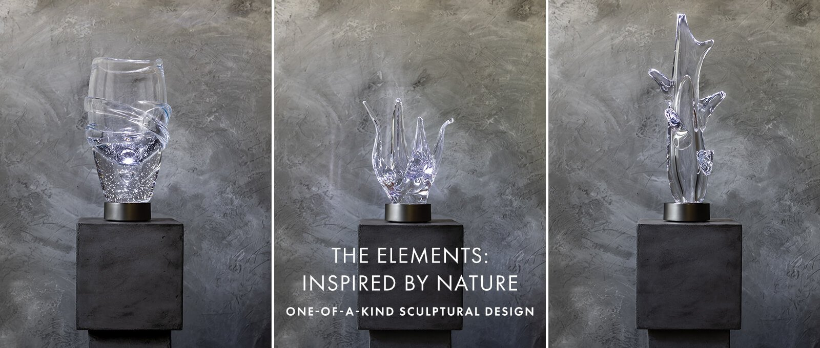 THE ELEMENTS: INSPIRED BY NATURE — ONE-OF-A KIND SCULPTURAL DESIGN